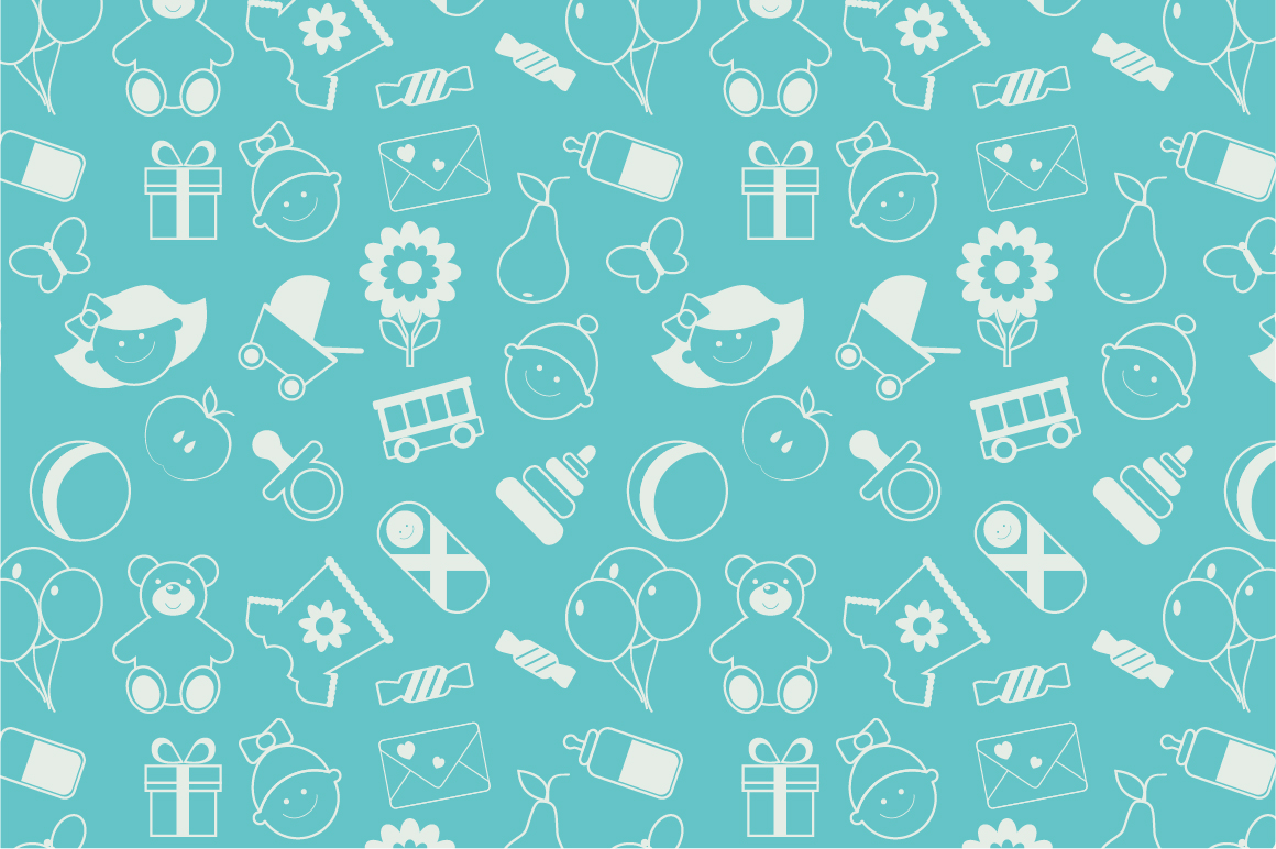 Baby Patterns : Pics Photos - Seamless Baby Boy Pattern Wallpaper