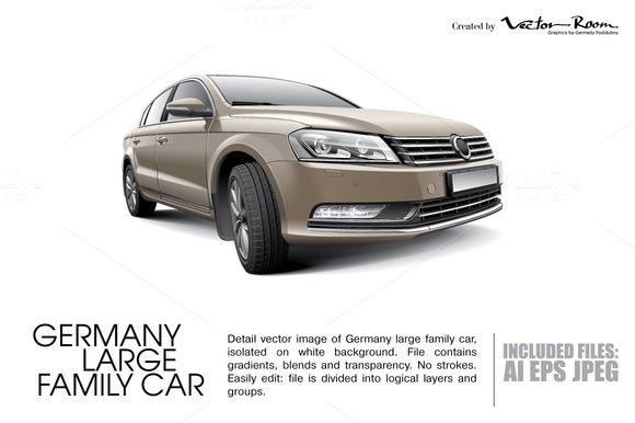 Germany Large Family Car