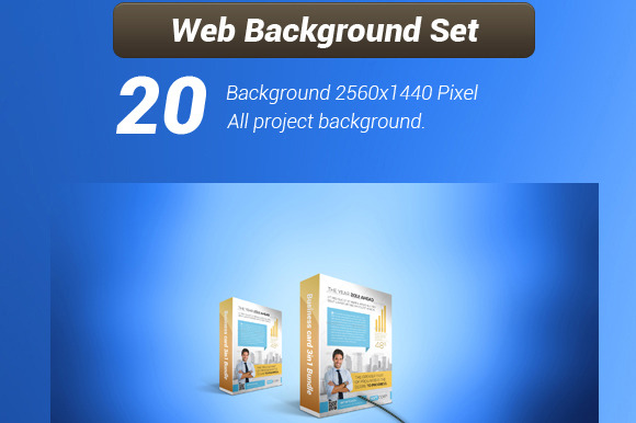 Web 2.0 Background Set All Project