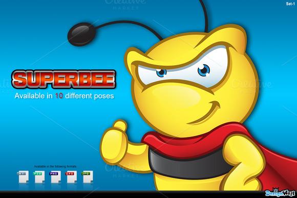Super Bee Character Set 1
