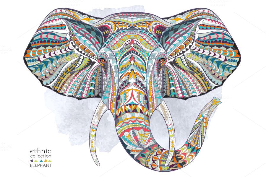 ethnic collection  elephant