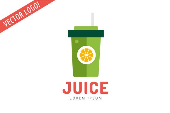 Fruit Drinks Pack Logo Juice Logo Logo Templates On