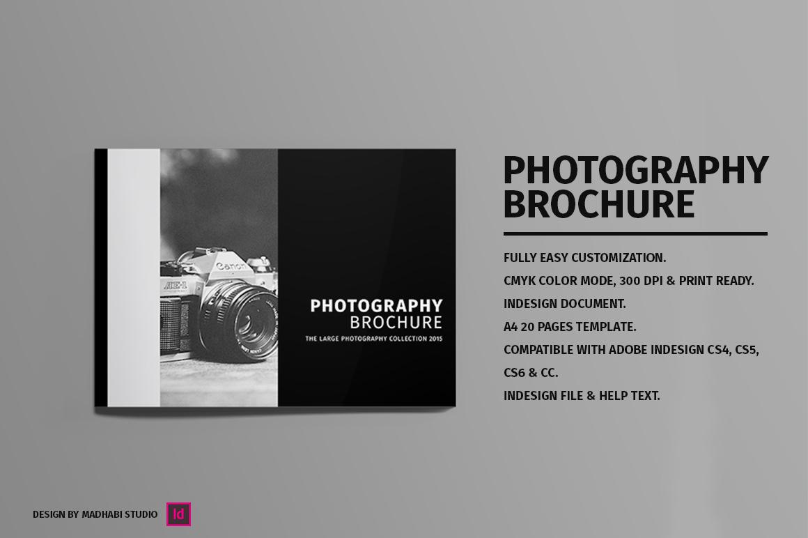 Minimal Photography Brochure Brochure Templates On