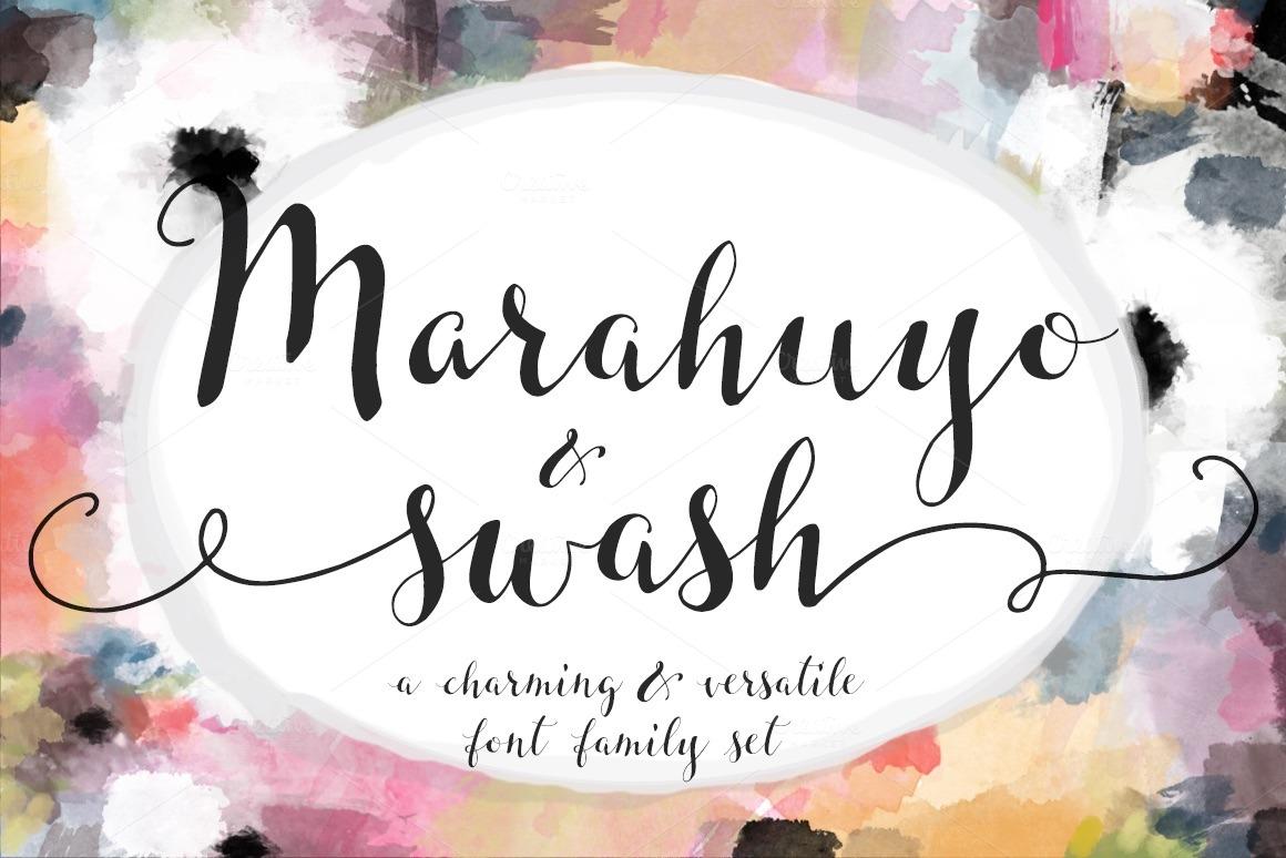 Marahuyo Font Family Set Download