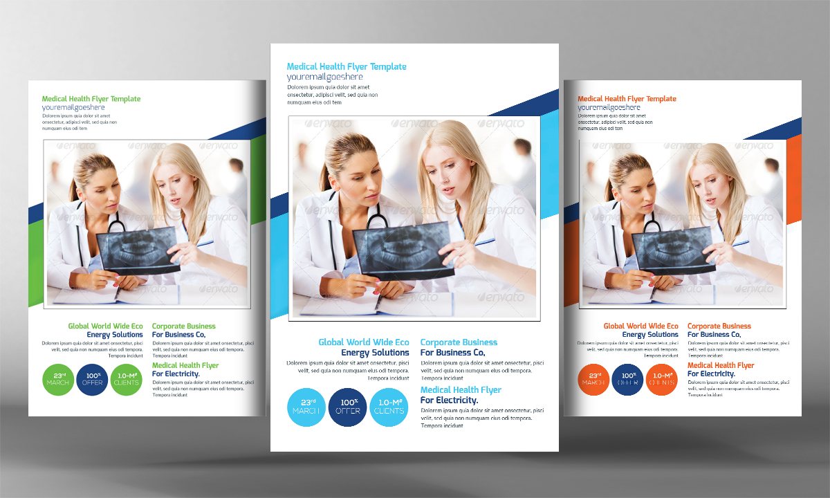 health brochure template - medical health flyer template flyer templates on