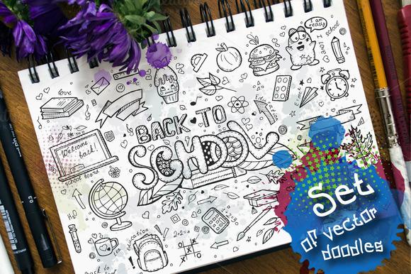 Doodles - Back to school. vol.2 - Illustrations
