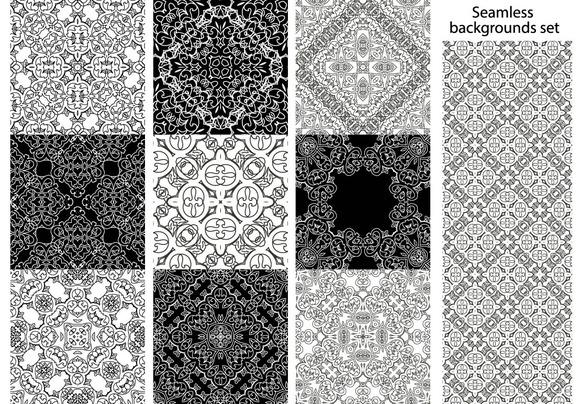 36 Vector Geometric Patterns