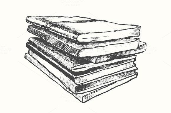 Pile Of Old Books