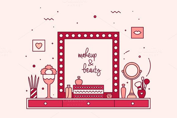 Modern Designer Makeup Table Vanity