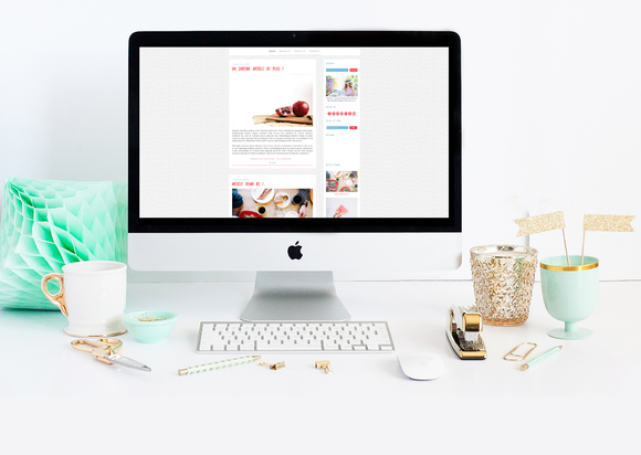 French Cancan Blogger Template