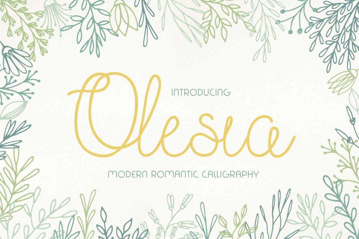Olesia Font Download