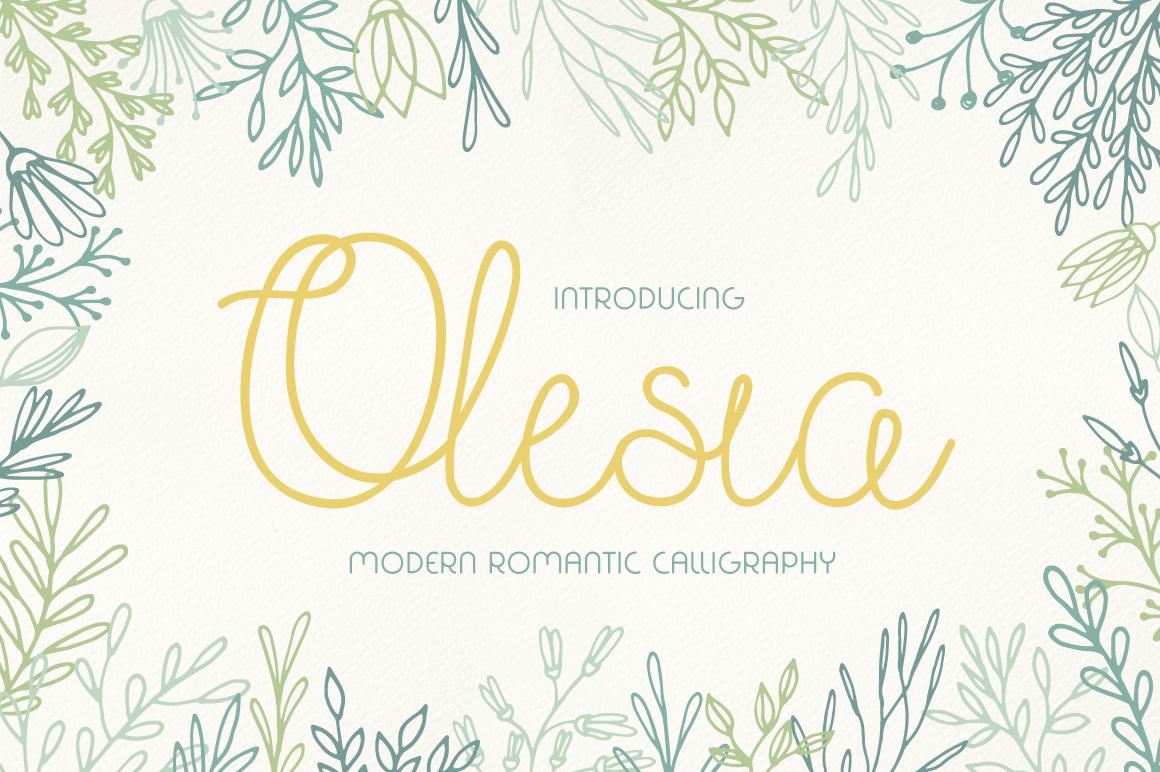 Olesia Font Download