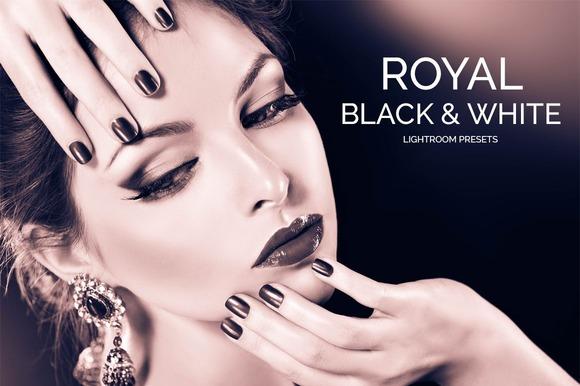 Royal Black&White Lightroom Presets - Actions