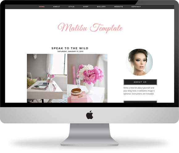 The Malibu Blogger Theme