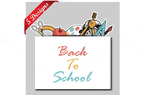 5 Back To School Designs