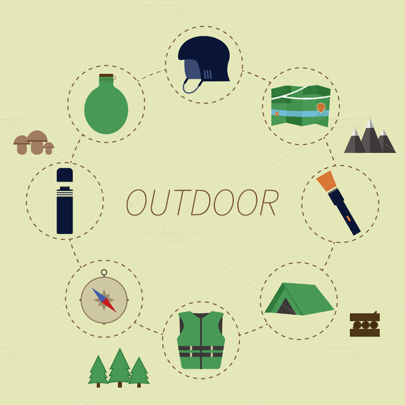Outdoor Infographics