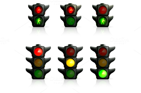 Traffic Lights Icons
