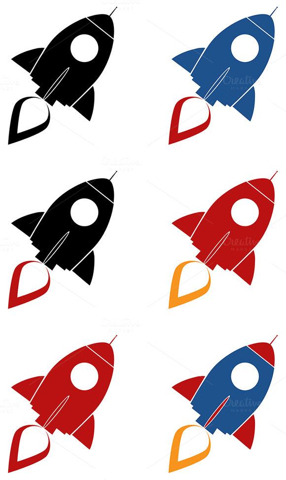 Retro Rocket Collection 1
