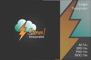 Thunder Logo Symbol-Graphicriver中文最全的素材分享平台
