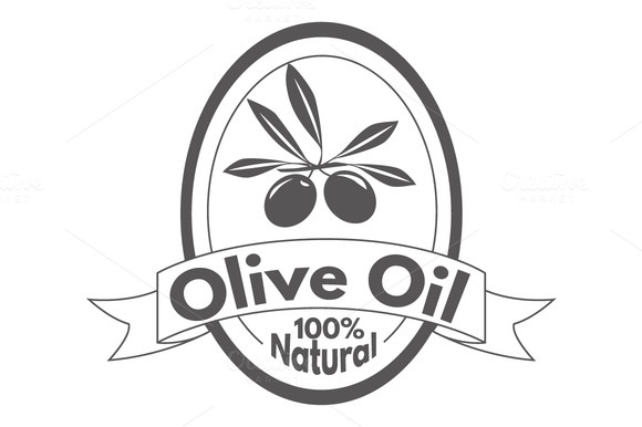 16 Olive Oil Labels Hand Drawn