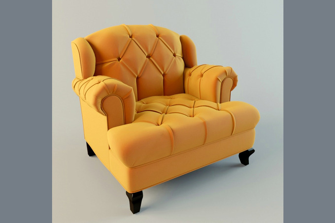 Mr Smith Chair Furniture on Creative Market