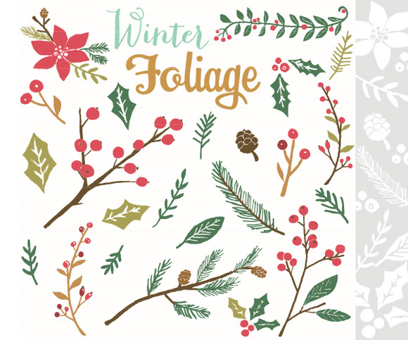 Winter Foliage EPS