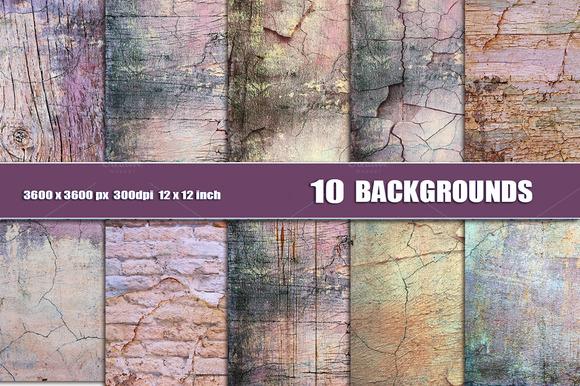 GRUNGE WALL CRACK Texture Background