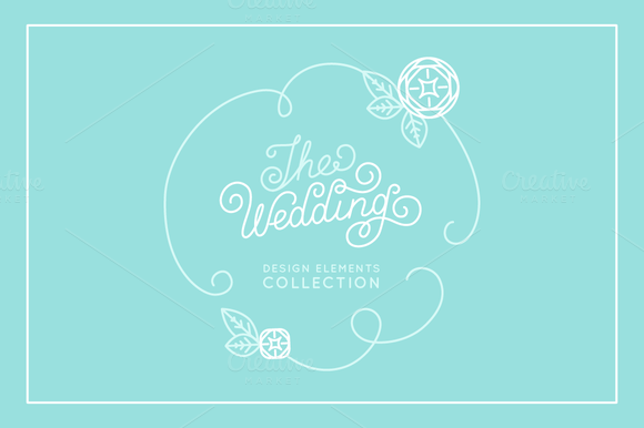 The Wedding Design Elements
