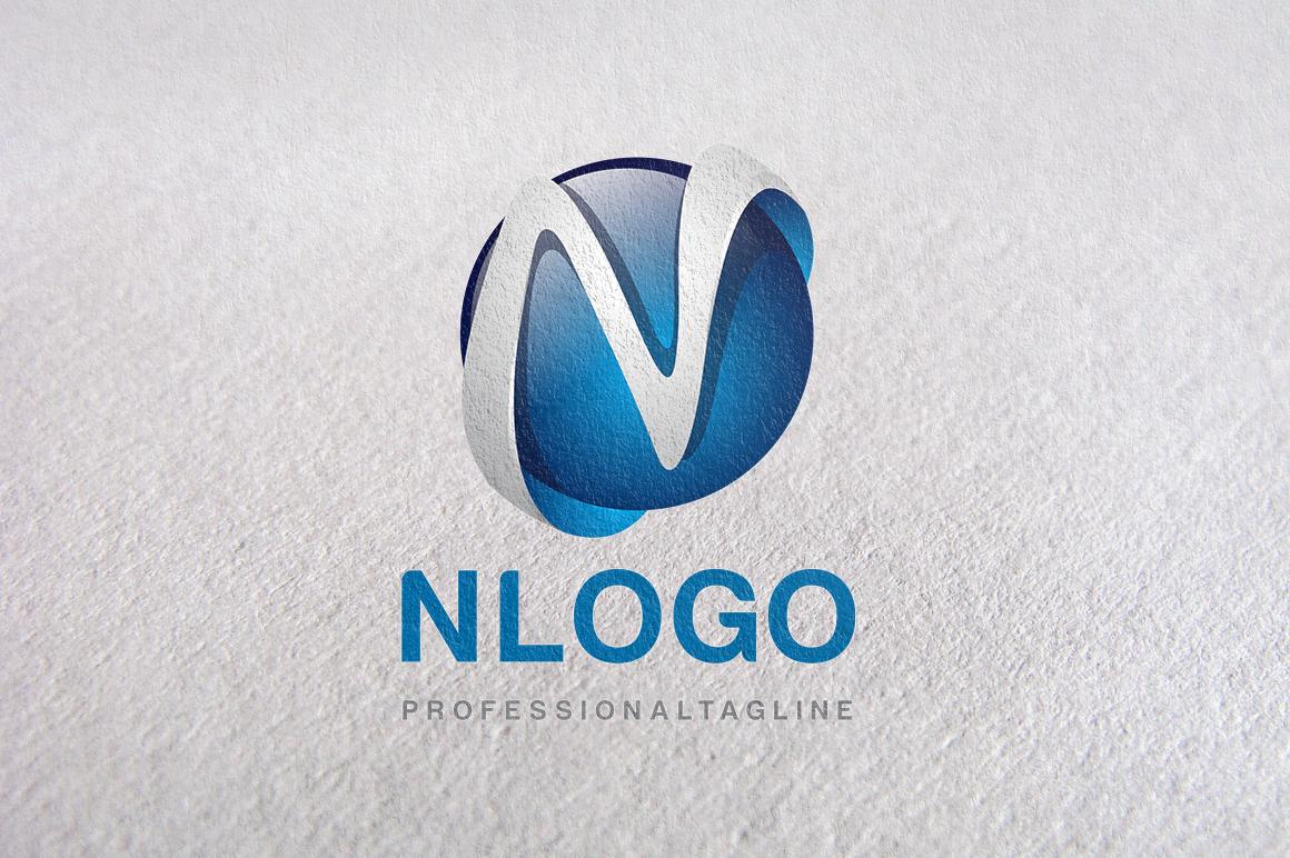 N Letter, Letter N, N logo, logo N ~ Logo Templates on ...