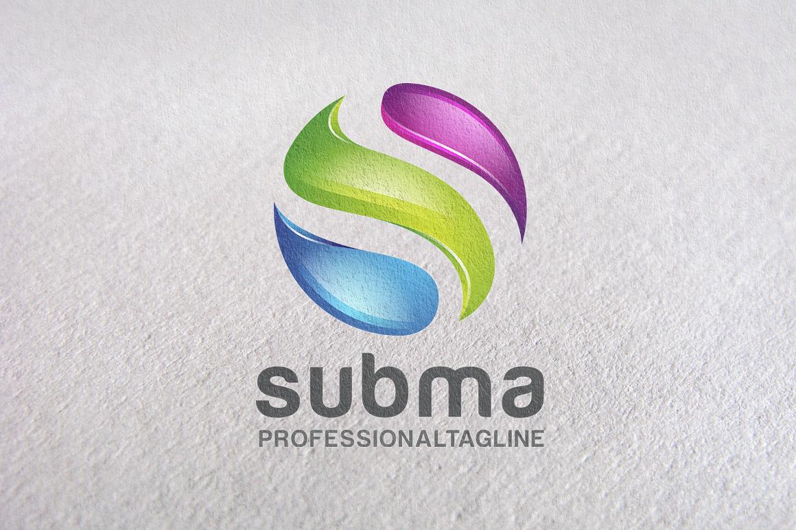 S Logo 3d S Letter, S logo, 3D L...