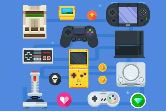 The Gamer Icon Set