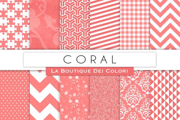 Coral Digital Papers