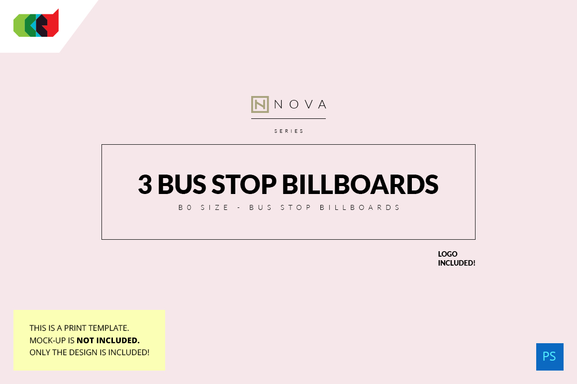 Nova Series - Bus Stop Billboards ~ Flyer Templates on Creative Market