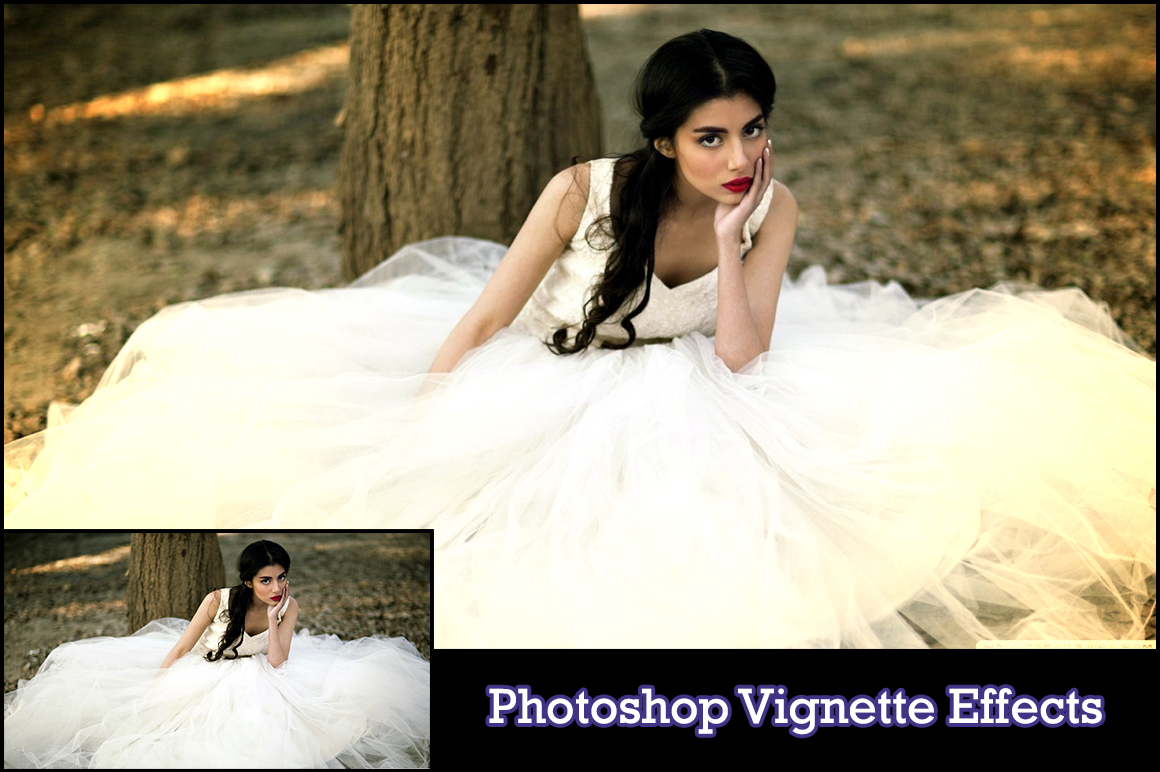 The Easiest Way To Create A Vignette In Photoshop  Vignette Effect Photoshop