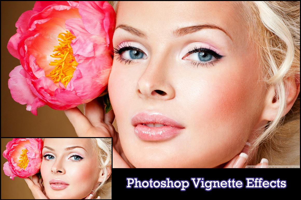 How to Create a Soft Fade Vignette Effect in Adobe ...  Vignette Effect Photoshop