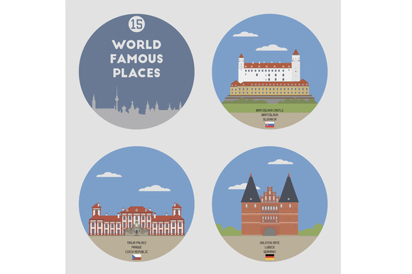 World Famous Places Set 15