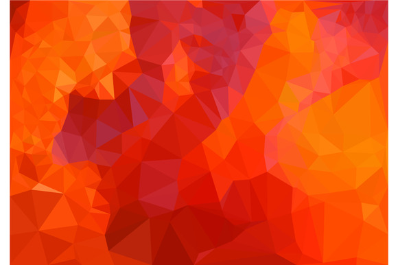 Wallpaper Orange Color 61 Images: Low Poly Of Abstract Red Background