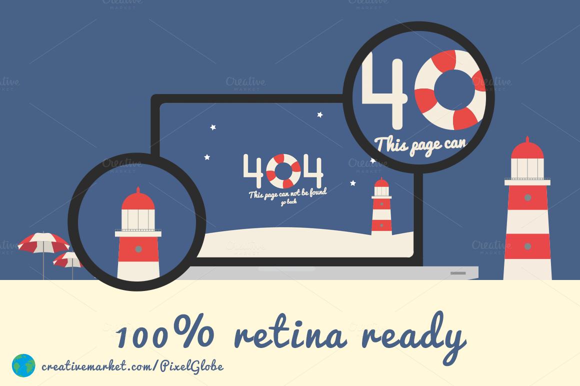 drupal 404 template - beach error 404 html template screen3