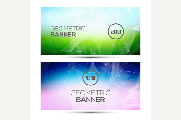 Bright Horizontal Banners