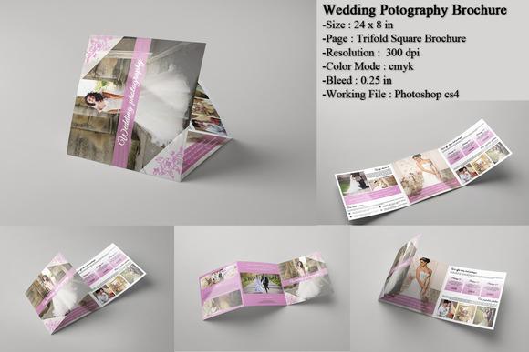 Wedding Photography Brochure Sistec