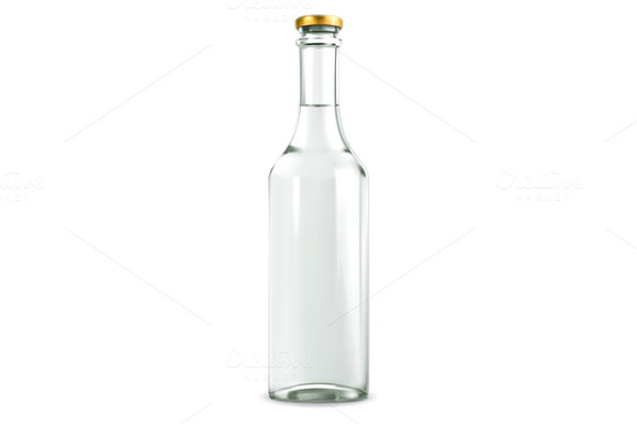 Alcohol Drink In Bottle