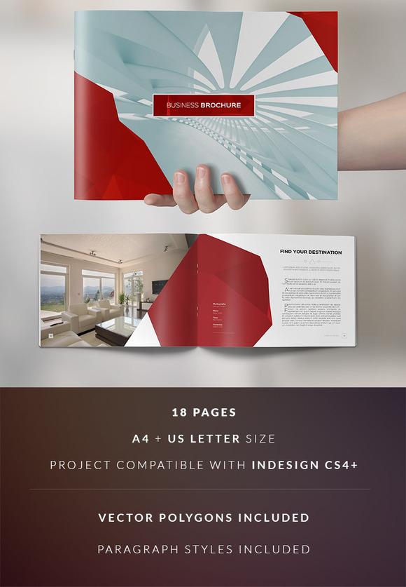 Clean elegant business brochure brochure templates on for Classy brochure design