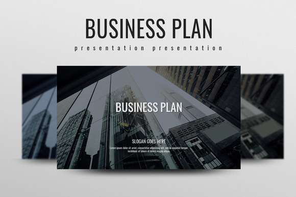 Business Plan ~ Presentation Templates on Creative Market