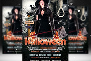 Halloween Flyer Template-Graphicriver中文最全的素材分享平台