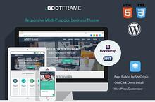 BootFrame - WordPress theme