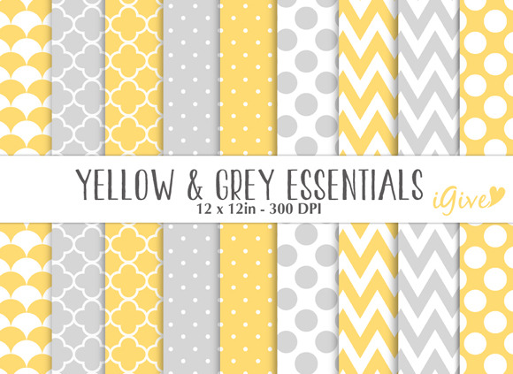 Yellow And Grey Papers Essentials