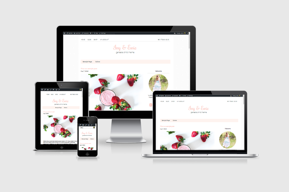 Ivy & Evie eCommerce WordPress Theme