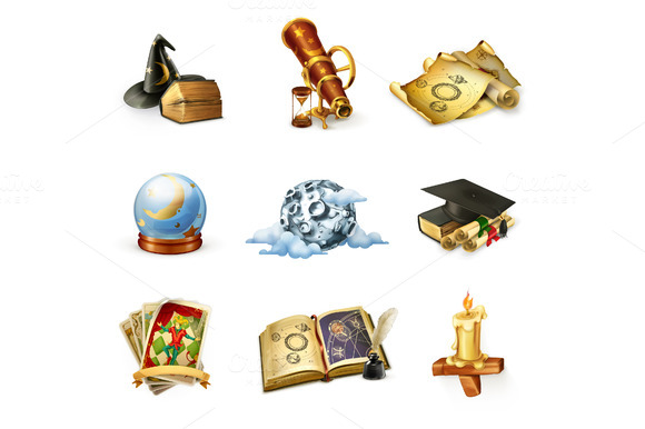 Astrology Vector Icons
