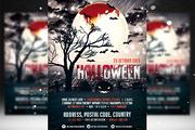 Halloween Flyer Template 2-Graphicriver中文最全的素材分享平台