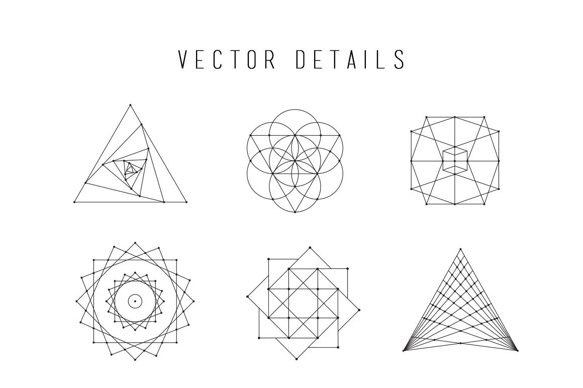 Sacred Geometry Vector Bundle ~ Illustrations on Creative